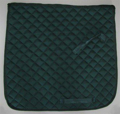 Qualitäts Dressur Schabracke Satteldecke grün