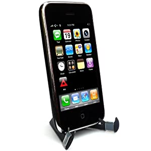 Crabble: The Innovative Folding iPhone Stand That Fits in Your Wallet(Black), For iPhone 2g 3g 3gs, iPod Touch, Blackberry, Droid and Similar Devices