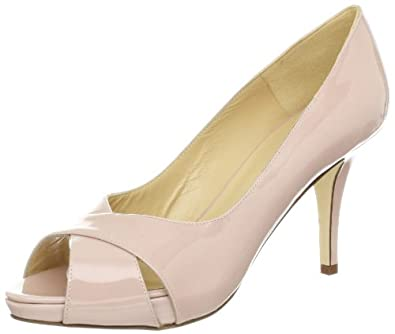Kate Spade New York Women's Billie Open-Toe Pump,Pale Pink,5.5 M US