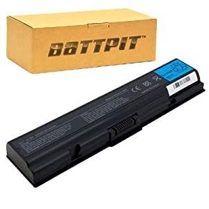Battpit™ Laptop / Notebook Battery Replacement for Toshiba Satellite Pro L450-W1543 (4400 mAh)