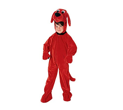 CHILD Clifford The Big Red Dog DELUXE Costume - Official Trademark Clifford Costume