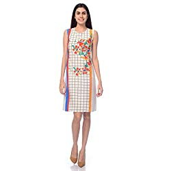 Desi Belle Casual Sleevess Printed Women's Dress