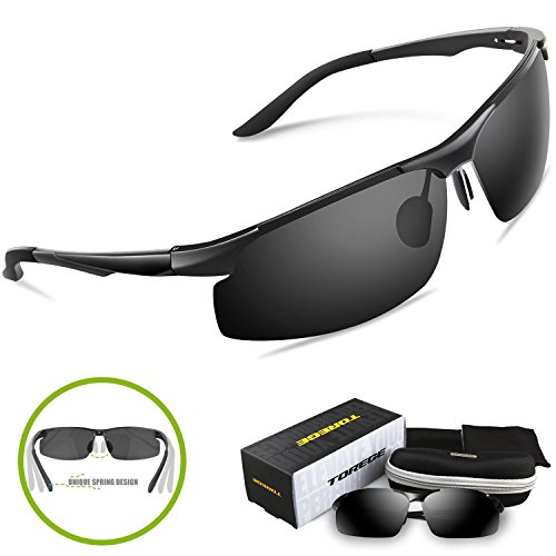 Torege-Mens-Sports-Style-Polarized-Sunglasses-Driver-Glasses-Unbreakable-Frame-M291