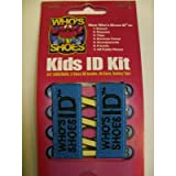 Who's Shoes Kids ID Kit (BLUE)