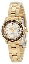 Invicta Womens 12525 Pro-Diver Silver Dial Watch