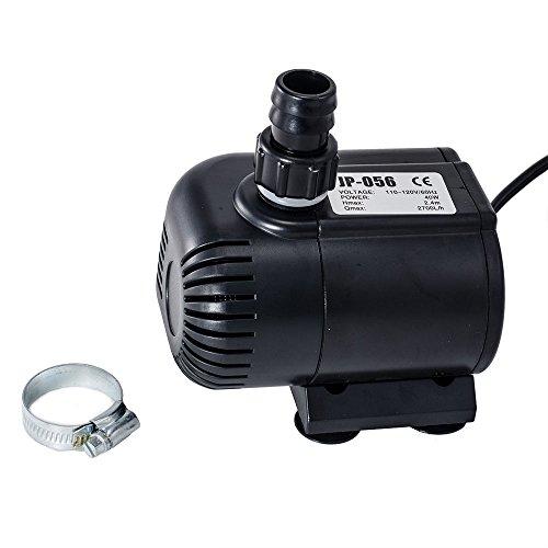 Sunsun 710 gph submersible water pump aquarium fish tank for Hydroponic submersible pump
