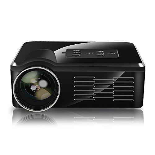 Flylinktech® Mini Portable LED Projector 640*480 800 Lumens