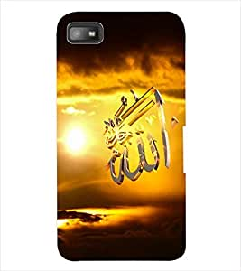 ColourCraft Lord Allah Back Case Cover for BLACKBERRY Z10