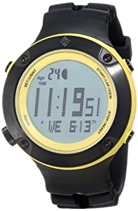 Columbia Men's CW004020 Tidewater Black and Yellow Digital Sports Watch