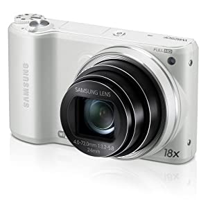 Samsung WB250F 14.2MP CMOS Smart WiFi Digital Camera with 18x Optical Zoom, 3.0