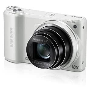 "Samsung WB250F 14.2MP CMOS Smart WiFi Digital Camera with 18x Optical Zoom, 3.0""  Touch Screen LCD and 1080p HD Video (White) (OLD MODEL)"