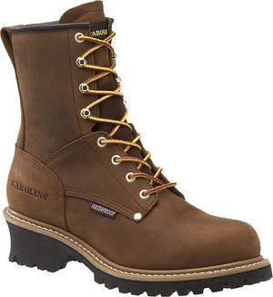 "Men'S Carolina 8"" Waterproof Loggers, Copper, 11M(D) [Apparel]"