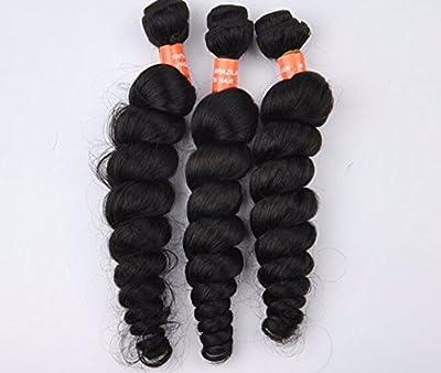 Goood Hair 7a 100% Unprocessed Peruvian Virgin Hair Loose Wave 8 to 30 Inch Hot Sell Peruvian Virgin Hair Curly Wave Human Hair Extensions 50g/pc 1 Bundle 18 Inch