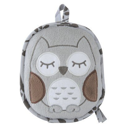 Eddie Bauer Vibrating Soother Gray Owl Portable Calm Baby - 1