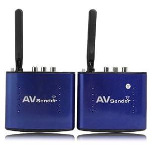 Signstek Pat-530 5.8GHZ 8 Channel 200m 20m Wireless Audio Video AV SD TV Sender Transmitter & Receiver IR Remoter