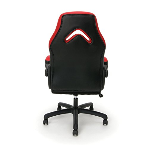 Ofm Leather Racing Style Gaming Chair