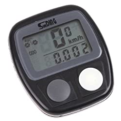 Waterproof LCD Display Cycling Bike Bicycle Computer Odometer Speedometer 14 Functions by China OEM