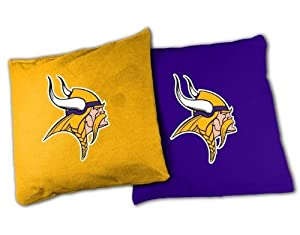 NFL Minnesota Vikings Official Cornhole Bean Bag Sets by Wild Sports