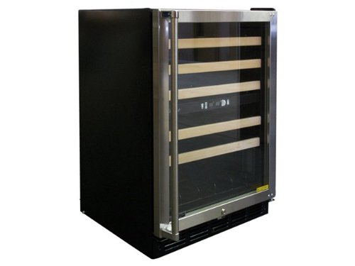 Vinotemp 45-Bottle Dual-Zone Wine Cooler