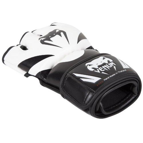 Venum Erwachsene MMA Handschuhe Attack, Black/Ice, L/XL, EU-0681 -