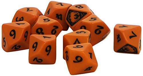 L5R: Phoenix Clan Dice Set (10 Stuck - W10) Board Game