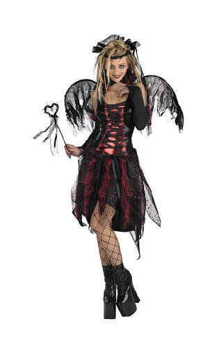 Vamp Fairy Sz 14 To 16 Girl Halloween Costume