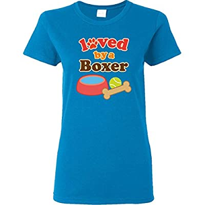 Inktastic Boxer Dog Lover Women's T-Shirt