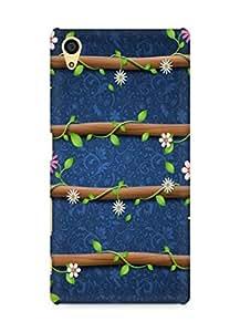 Amez designer printed 3d premium high quality back case cover forSony Xperia Z5 (cute floral)