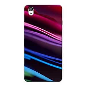 COLORED STRIPES BACK COVER FOR ONE PLUS X