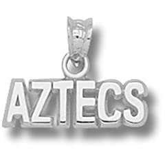 San Diego State Aztecs - 14K Gold by Logo Art