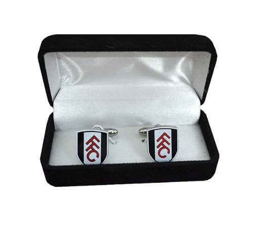 New Official Football Team Crest Cufflinks (Fulham FC)