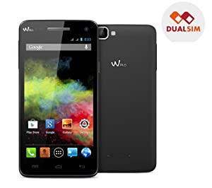 Wiko Rainbow Smartphone WI-FI Bluetooth Android(TM) 4.2.2 (Jelly Bean) 4 Go Noir (5 pouces)