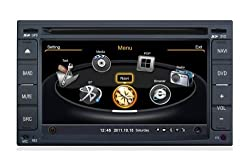 See susay for Nissan Sylphy, X-Trail, Tiida, Sunny, Rogue, Qashqai, Paladin, NV200, Note, Livina, Juke, Geniss, Bluebird, Versa 2000-2010 Car DVD Player With GPS Navigation(free Map)Audio Video Stereo System with Bluetooth , USB/SD, AUX Input, Radio(AM/FM), T Details
