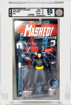 Picture of AFA Secret Files 2: Unmasked: Bruce Wayne/Batman Action Figure AFA 95 (B000QGXRJO) (Batman Action Figures)