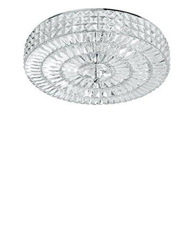 Gold Coast Lighting Chelsea 6-Light Crystal Semi-Flush, Polished Chrome
