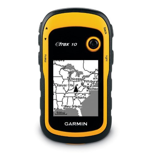 NEW GARMIN ETREX 10 HANDHELD OUTDOOR HIKING GPS RECEIVER 010
