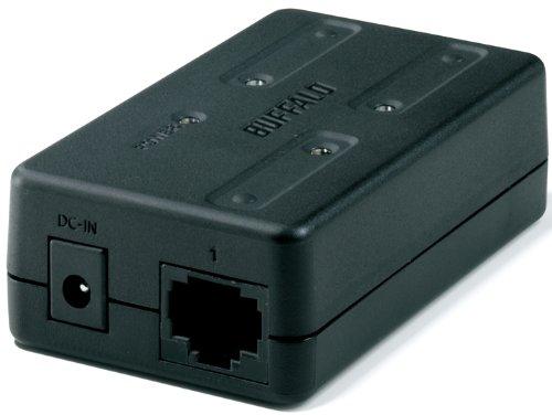 コンパクトスイッチングハブ порт Буффало 3 LSW-TX-3EP/куб