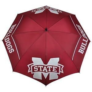 Buy NCAA Mississippi State Bulldogs 62-Inch WindSheer Hybrid Umbrella by Team Effort