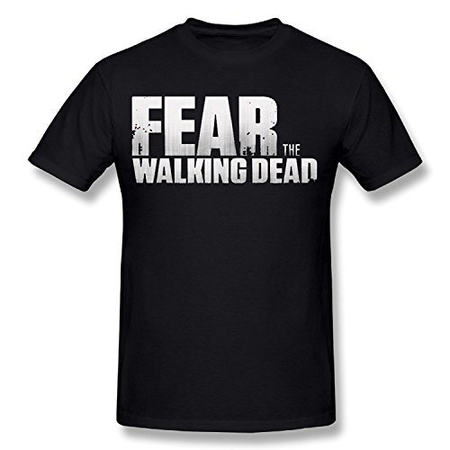 Fear The Walking Dead T-shirts For Men Black