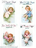 Little Angels Get Well/Thinking of You Religious Greeting Cards