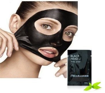 Skin Care Quality Set Kit With 6pcs Black Heads And Acne Removing / Face Pores Deep Cleansing / Purifying Facial Peel Off Masks By VAGA