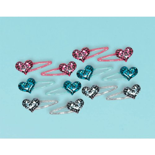Rocker Girl Barrettes-12 pc