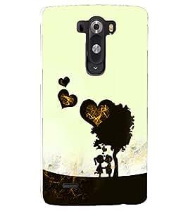 PRINTSHOPPII LOVE Back Case Cover for LG G2::LG G2 D800 D980
