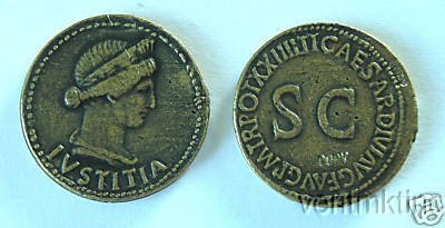 (DD S 14) Livia Brass Dupondius COPY