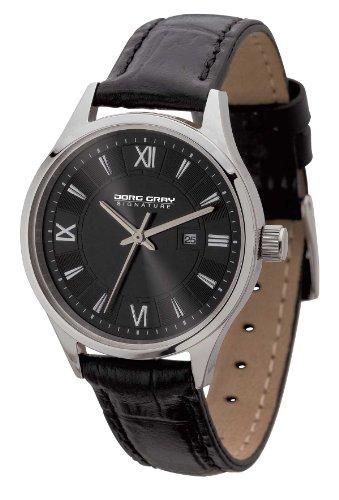 Jorg Gray Signature  JGS2581 - Reloj de cuarzo para mujer, con correa de cuero, color negro