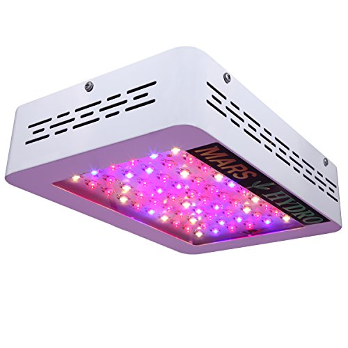 MarsHydro Mars300 LED Grow Light Full Spectrum for Hydroponic Indoor Greenhouse / Garden Plants Growing, 132W True Watt Panel (Mars Ii 400w Led Grow Light compare prices)