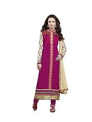 Parisha Cambric Cotton Pink Women's Chudidar 4NZK910