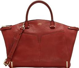 Vince Camuto Asha Satchel Shoulder Bag, Burnt Henna, One Size