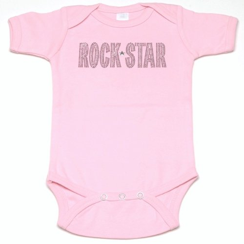 Lollipop Moon Rock Star Baby Creeper front-912387