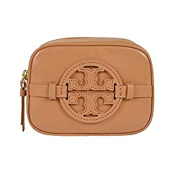 Tory Burch Holly Classic Cosmetic Case Vintage Vachetta